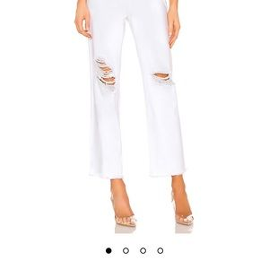 NEW NEVER WORN cropped Superdown jeans